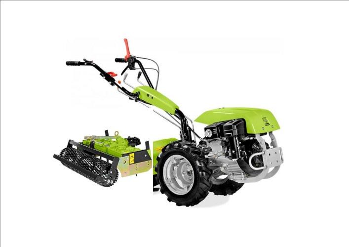 motoculteur 12 5 cv diesel d u00e9marrage  u00e9lectrique avec herse rotative 100cm  u00e0 louer